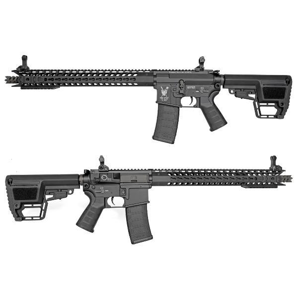 King Arms M4 TWS KeyMod Dinosaur BK