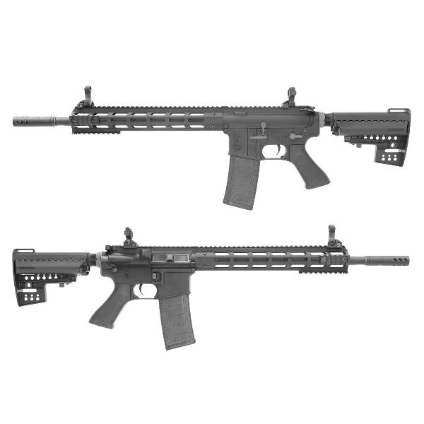 King Arms M4 TWS M-LOK Rifle Ultra Grade II - BK