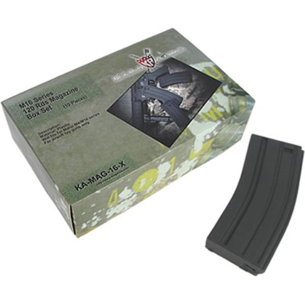 M16 120 Rounds Magazines Box Set (10pcs)