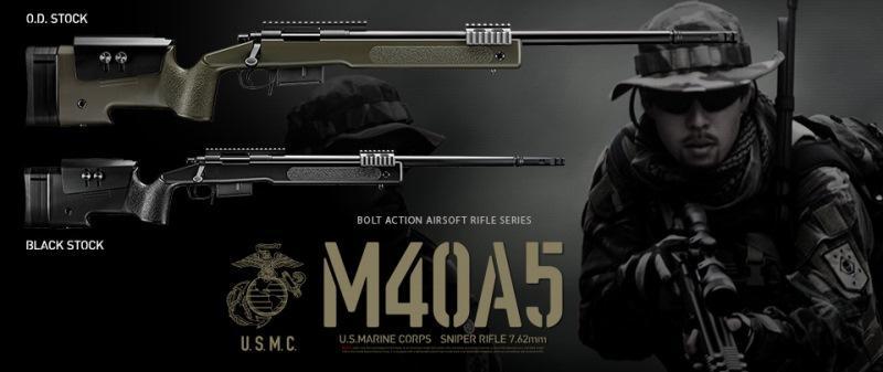 M40A5 OD Stock Tokyo Marui