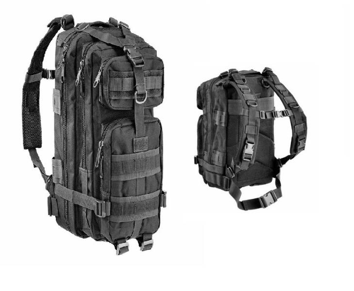 OPENLAND TACTICAL BACK PACK600D NYLON BK