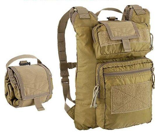 ROLLYPOLY PACK COYOTE TAN