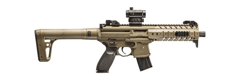 SIG SAUER CAC MPX 4.5 FDE CO2 RED DOT =CN 727