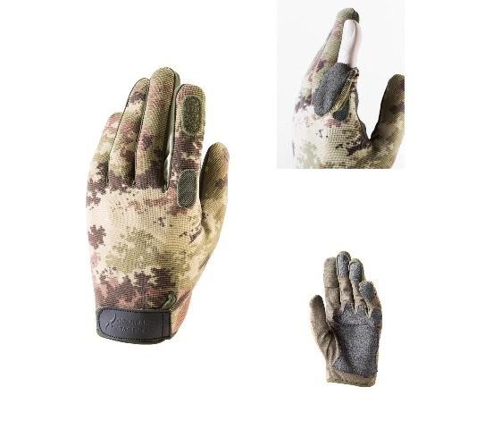 TACTICAL SHOOTING GLOVES WITH TRIGGER FINGER OPENING