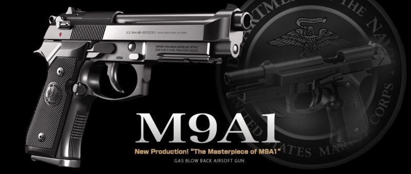 PISTOLA A GAS M9A1 - GBB- TOKYO MARUI