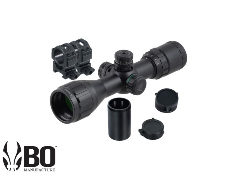 UTG 3-9X32 COMPACT CQB BUG BUSTER AO RGB SCOPE