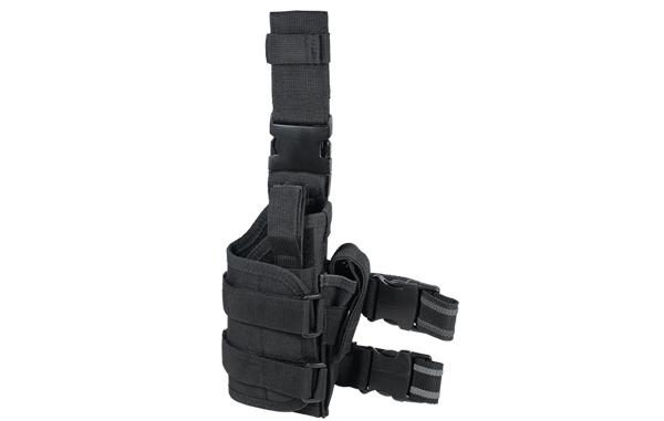 UTG Extreme Ops Tactical Thigh Holster, Black