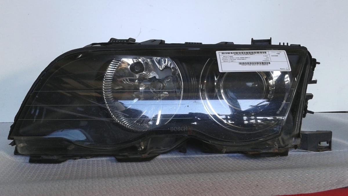 Proiettore faro xeno sinistro sx usato originale BMW Serie 3