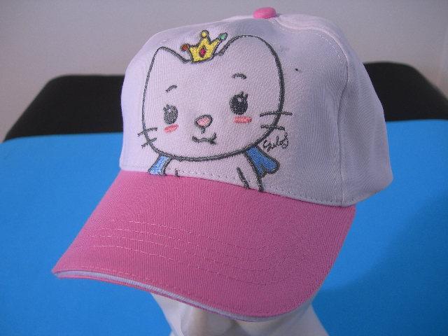 Angel Cat Sugar Cappellino Bambina Hello Kitty bianco rosa