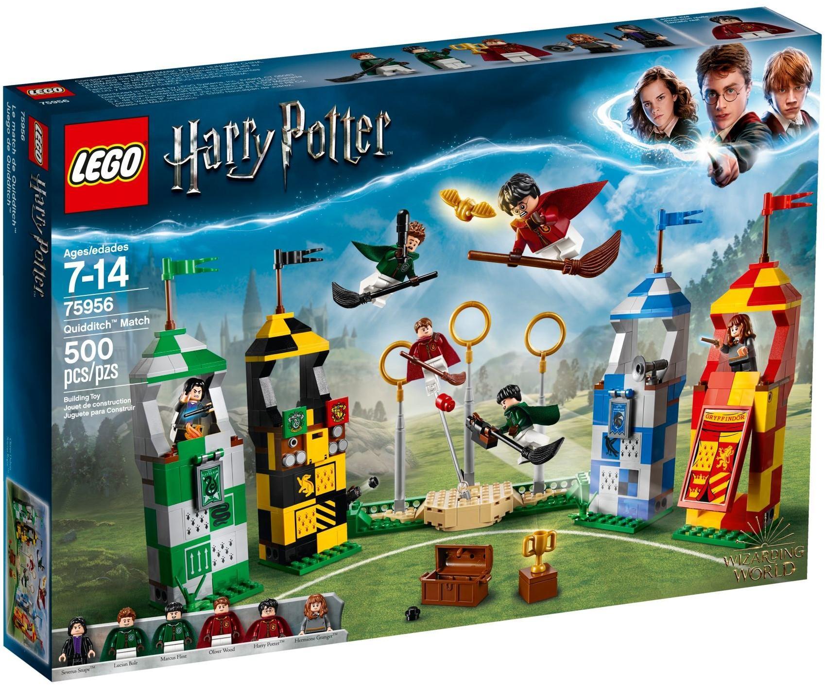 LEGO HARRY POTTER PARTITA DI QUIDDITCH 75956