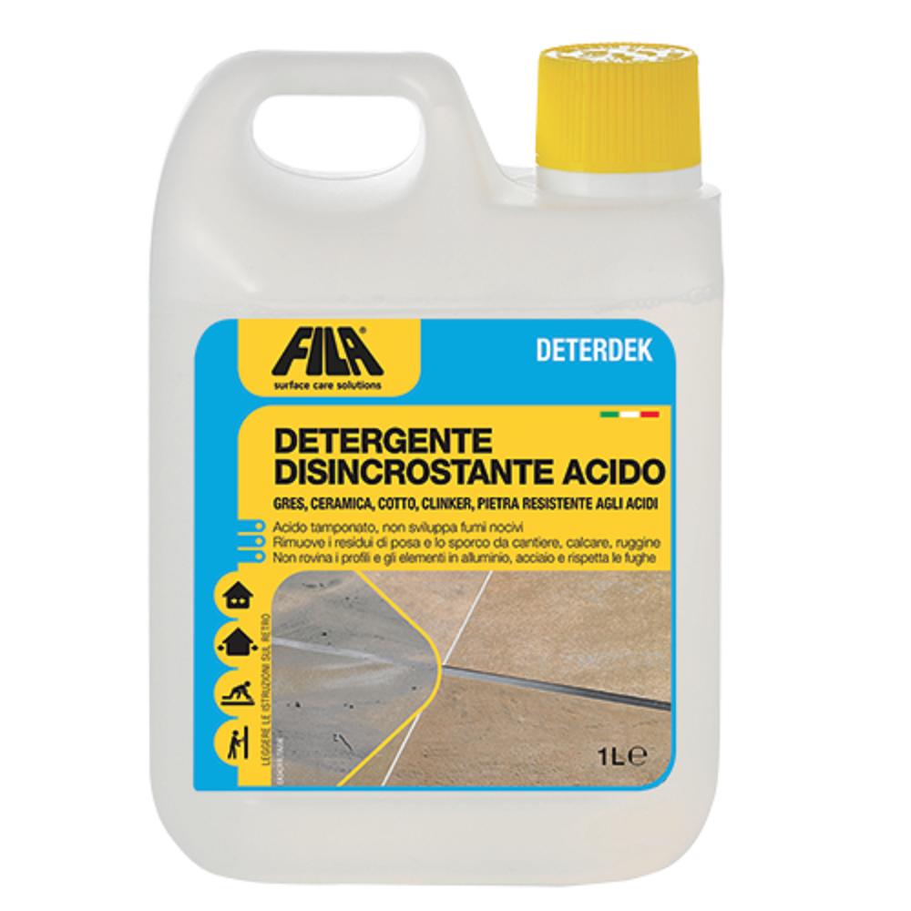 Detergente Per Cotto Esterno fila deterdek - detergente disincrostante acido