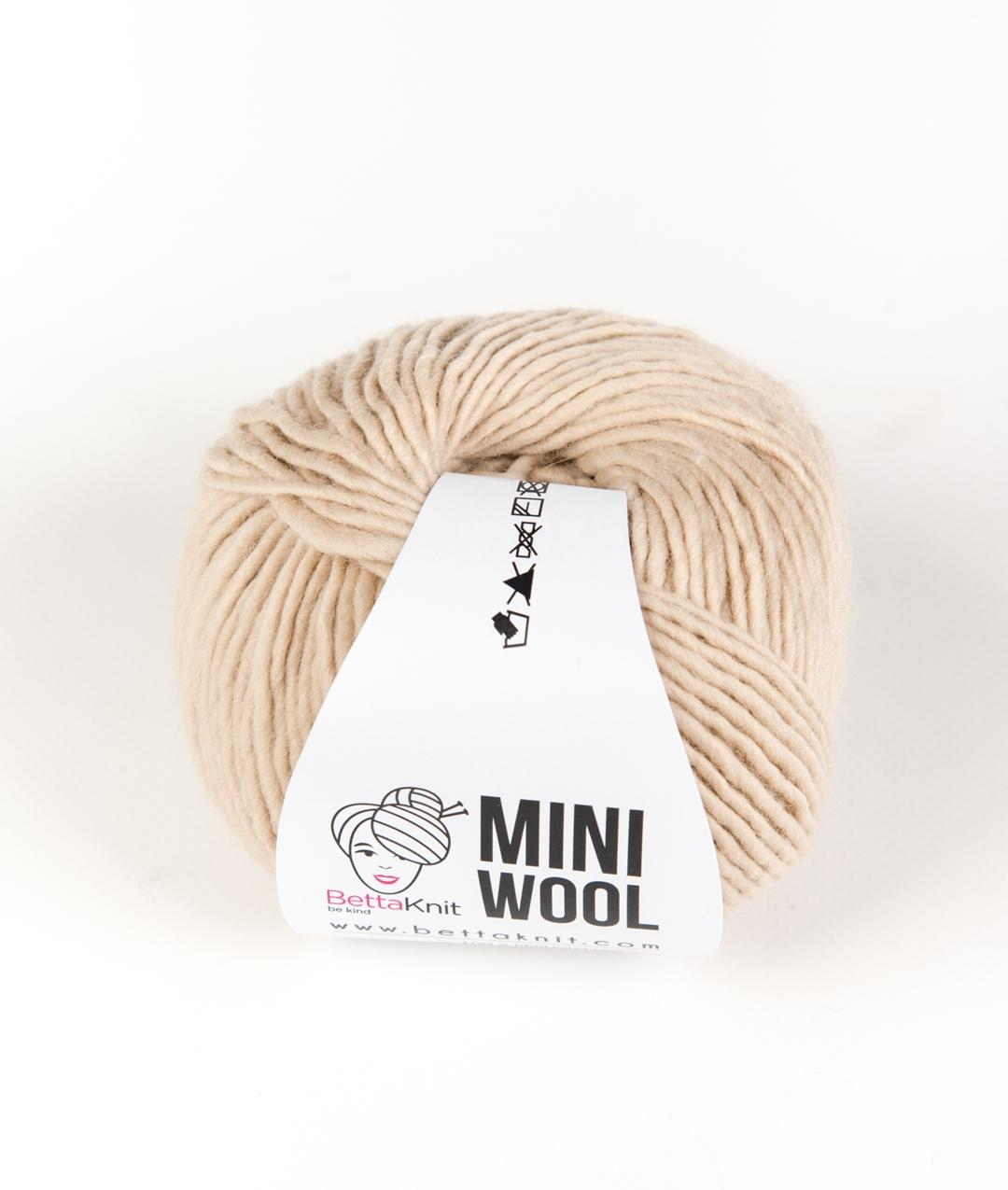 Yarns - Yarn pack without Needles  - Mini Wool Pack - 10 balls - 1