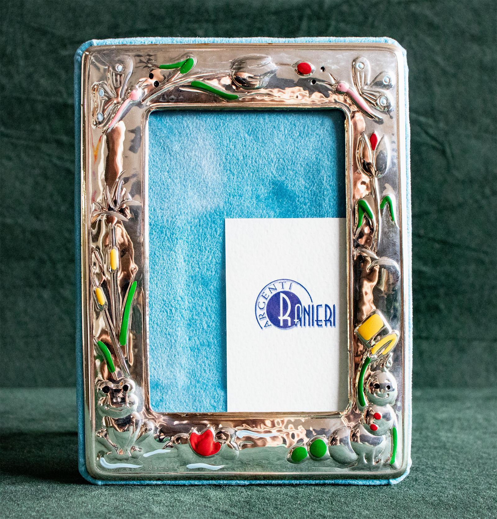 Cornice portafoto in argento