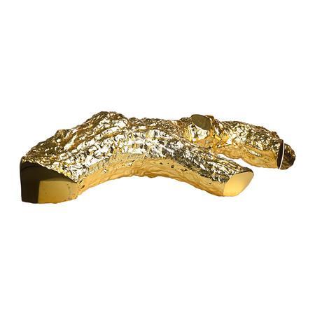 Candelabro ramo oro