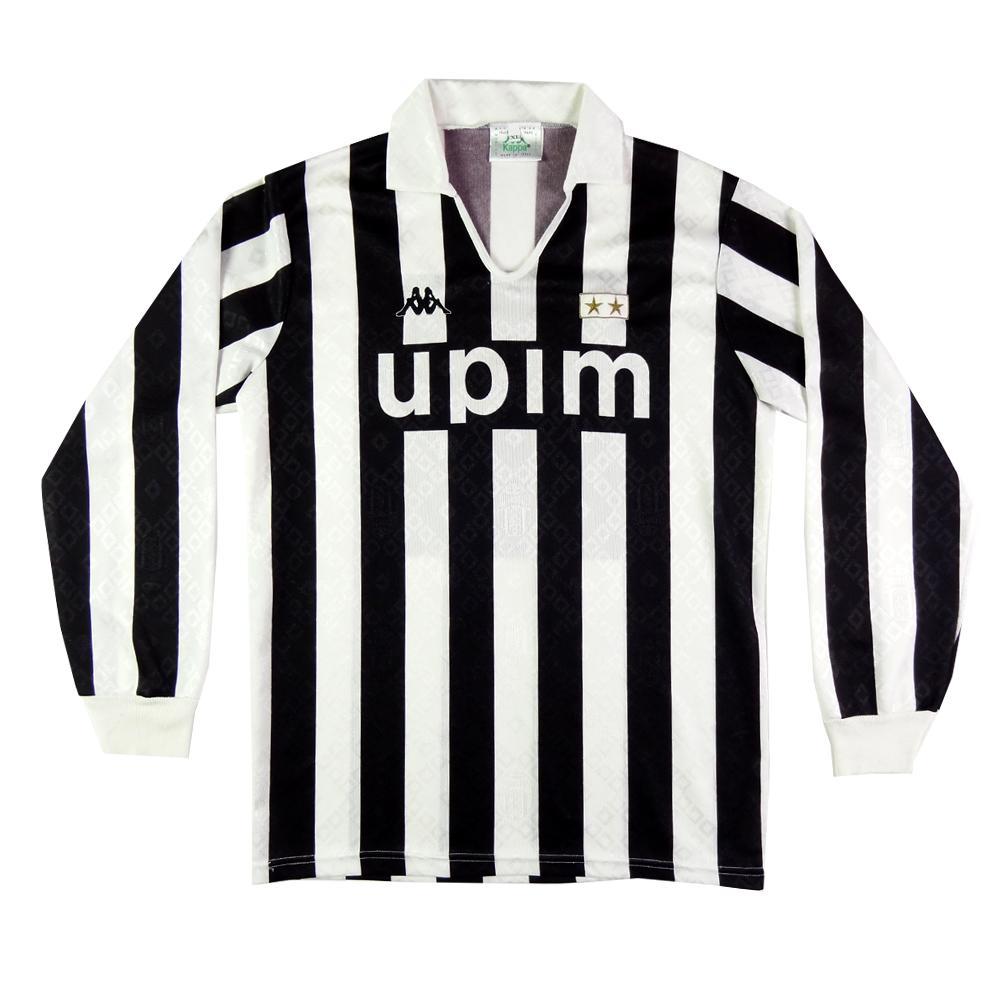 1989-90 Juventus Maglia Home #8 Rui Barros XL  SHIRT MAILLOT TRIKOT Fußball-Artikel Fußball-Trikots von ausländischen Vereinen