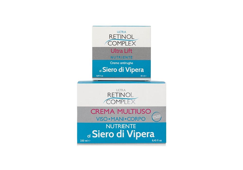 Retinol Complex Crema Siero di Vipera