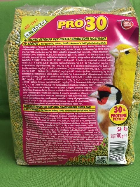 GOCCE PRO 30  confezione 900gr