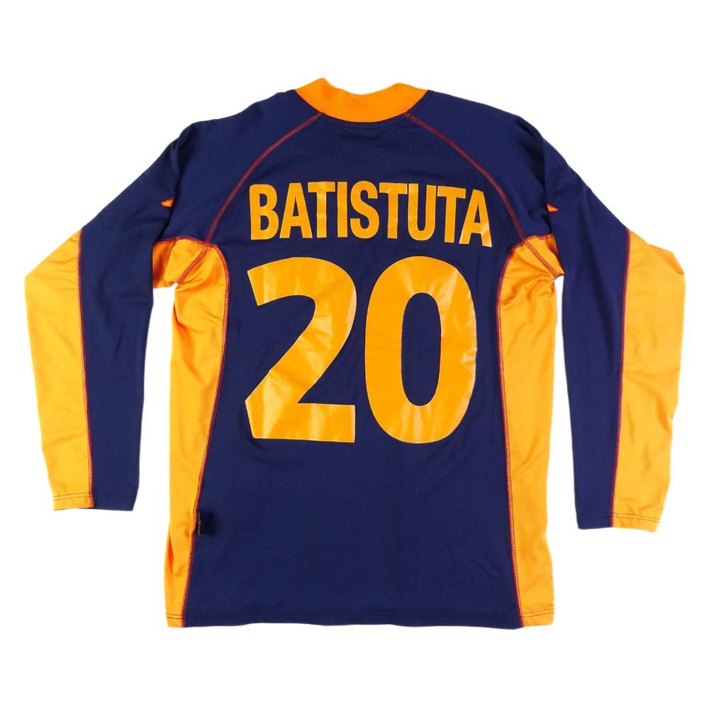 2001-02 Roma Maglia Terza #20 Batistuta XL (Top)