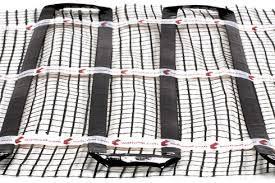 Radiante  per  pavimento : rete black sheet