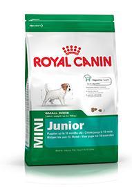 Mini Junior Per cuccioli da 2 a 10 mesi