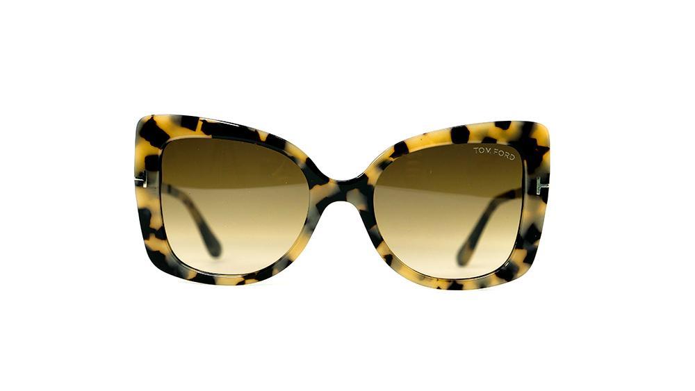 c1a96e674f743 Sunglasses woman Tom Ford Alexandra FT607   S74B