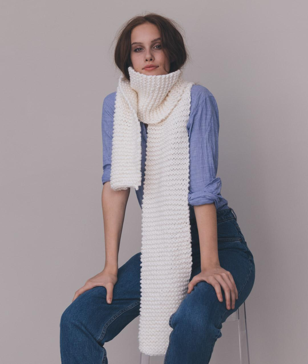 Fall / Winter 2018-19 Collection - Scarves and SnoodsFall / Winter 2018-19 Collection - Scarves and Snoods - NAIMI SCARF - 1