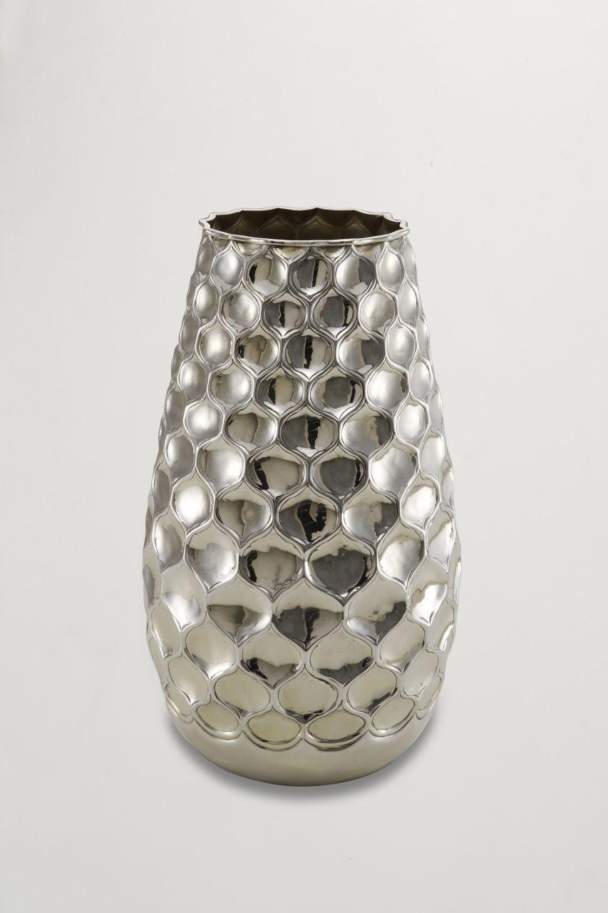Vaso argentato argento sheffield stile goccia