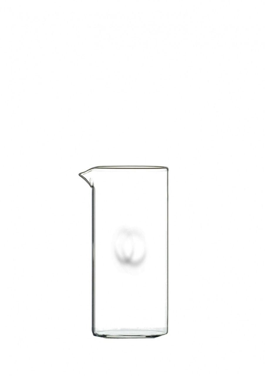 Caraffa in vetro senza manico ml 500 cm.17h diam.8