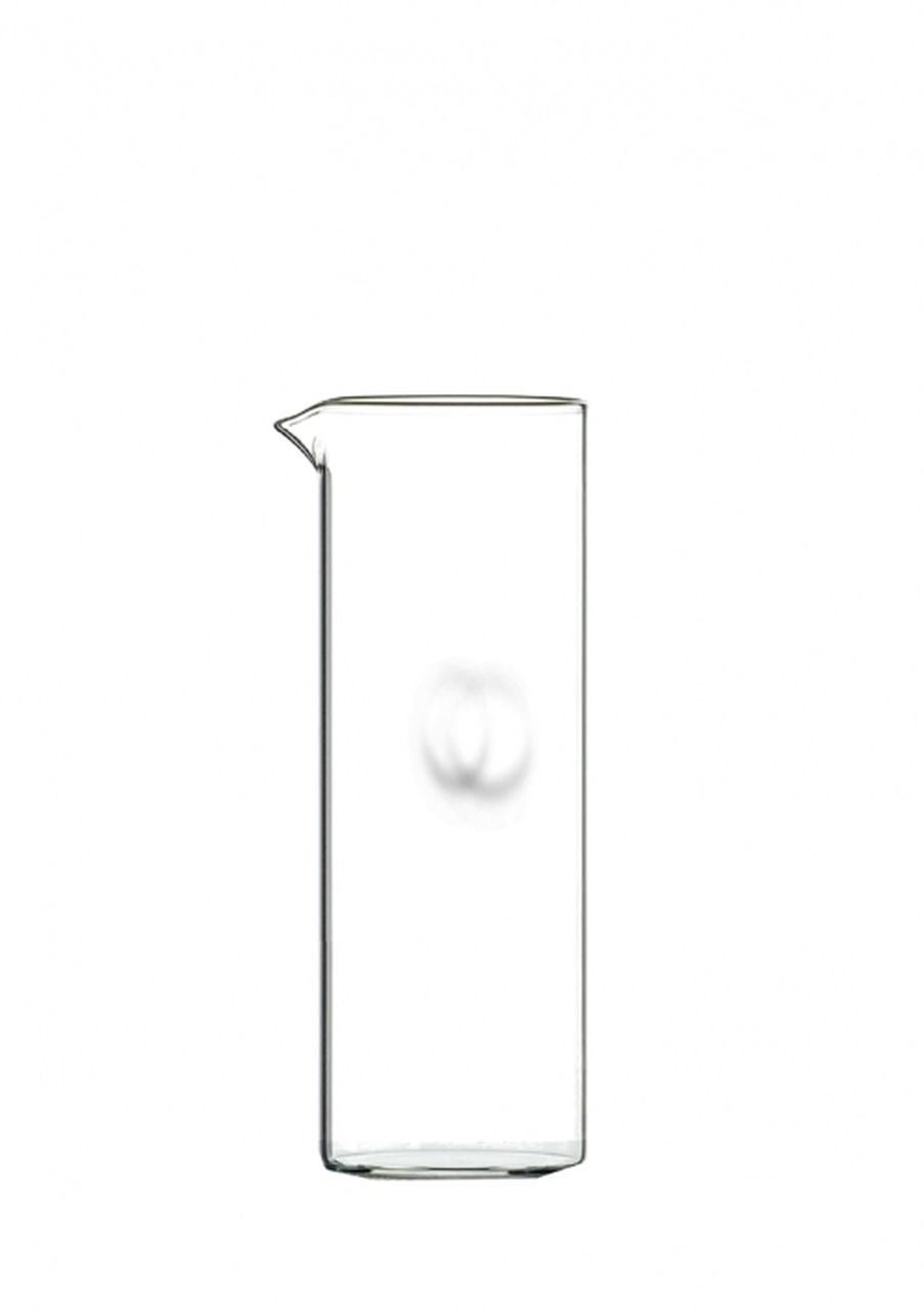 Caraffa in ventro senza manico ml 750 cm.22h diam.8