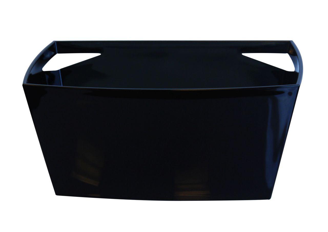 Spumantiera nera per 6 bottiglie cm.45x28x23h