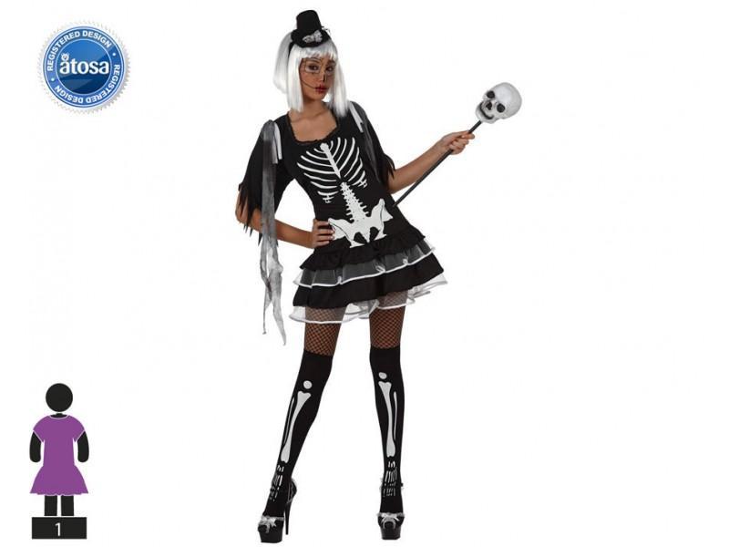 Costume Scheletro M-L