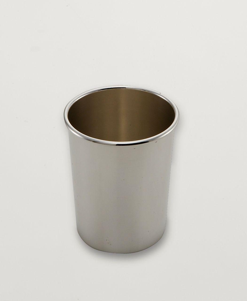 Bicchierino classic argentato argento sheffield cm.10h diam.8,5