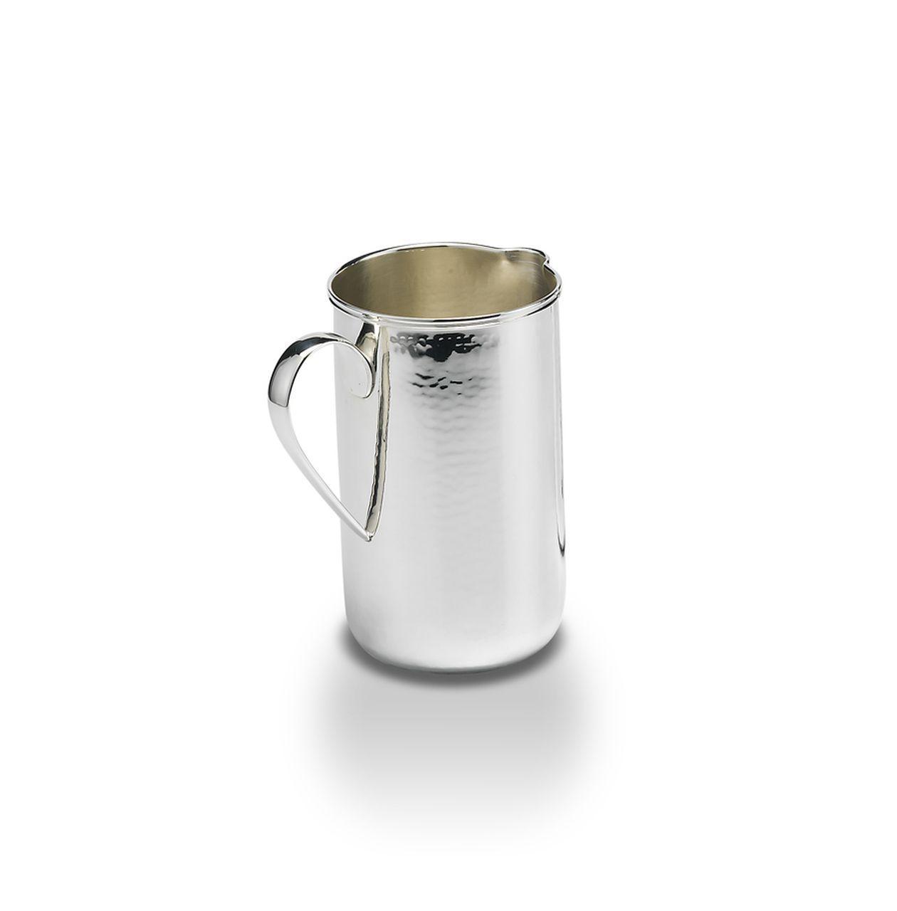 Brocca stile inglese argentato argento sheffield cm.18h diam.11