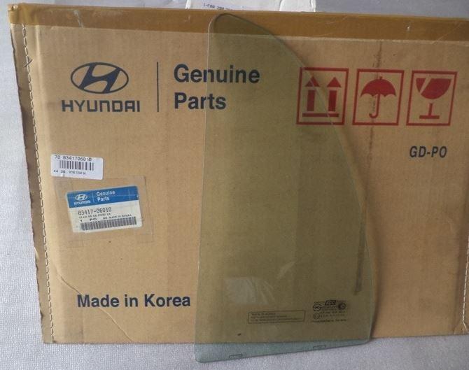 Vetro fisso posteriore sinistro verde Hyundai ATOS PRIME '00