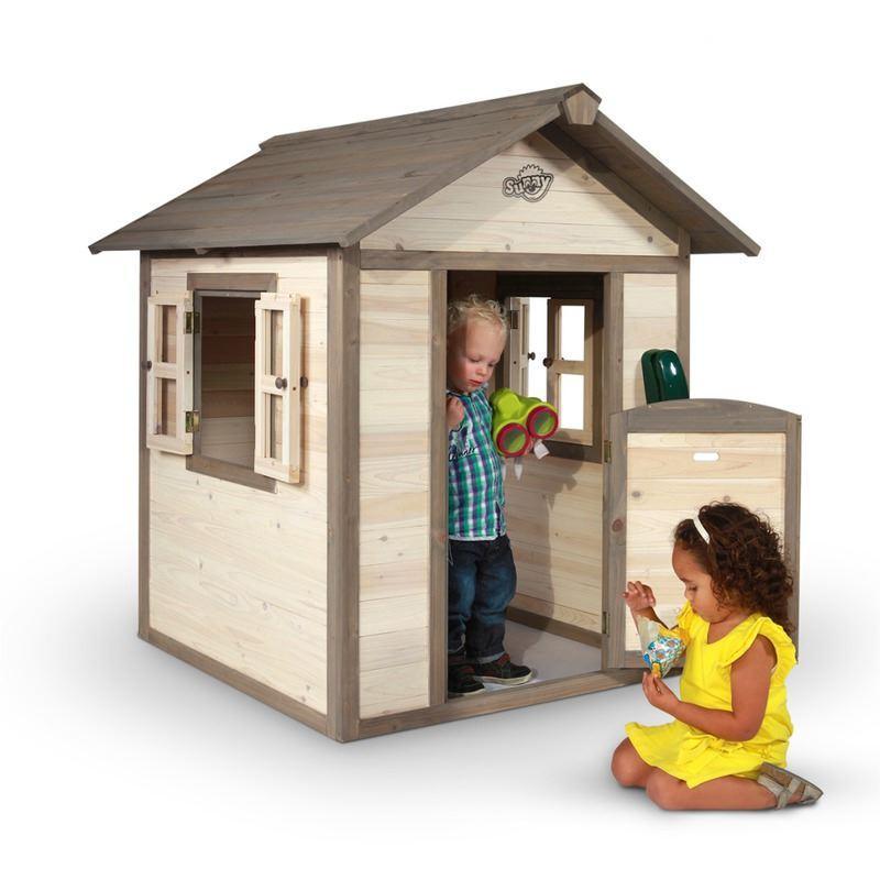 Casetta per Bambini in Legno di Cedro Lodge SUNNY
