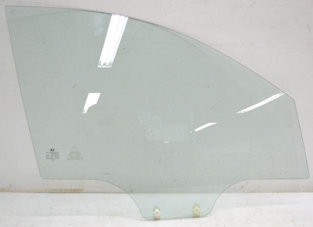 Vetro scendente anteriore destro HYUNDAI i10 '08 2FORI Verde