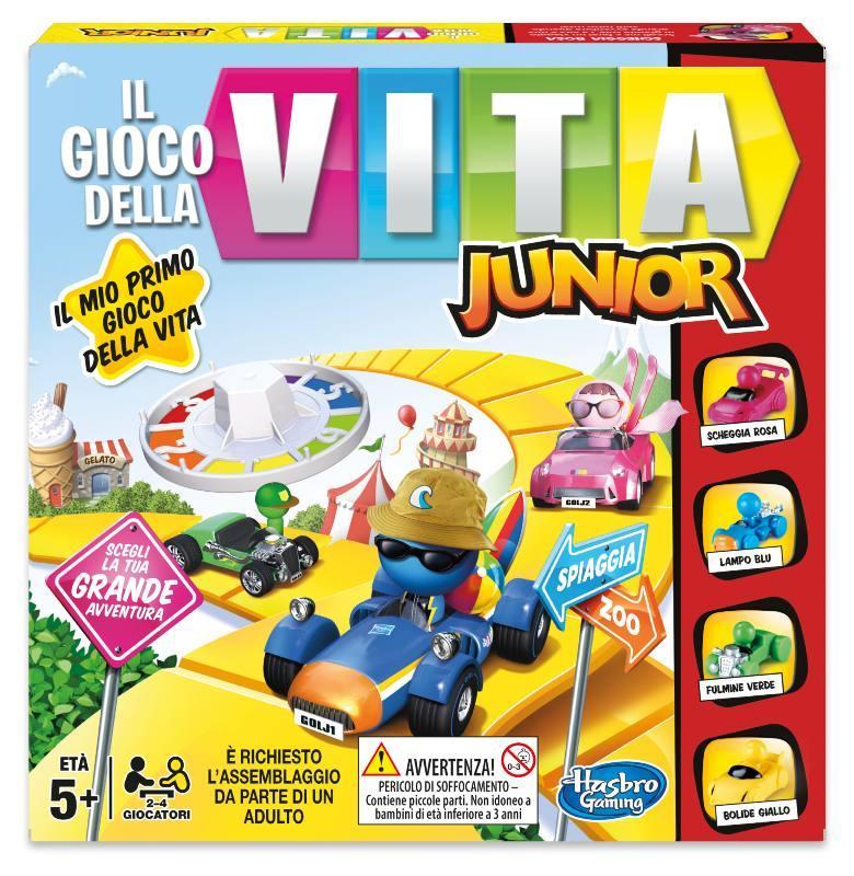 GIOCO DELLA VITA JUNIOR B0654 HASBRO EUROPA