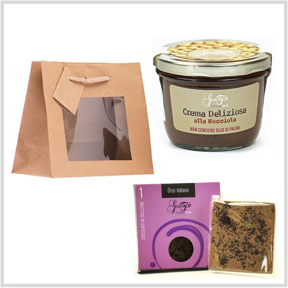 Easy Bag, piccola confezione regalo, ideale per tutte le occasioni. Idee regalo n. 2