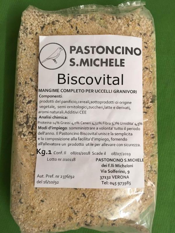 BISCOVITAL pastone secco 1kg