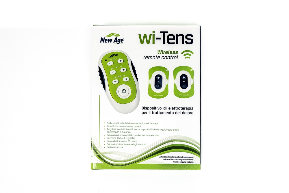 DISPOSITIVO DI ELETTROTERAPIA WI-TENS WIRELESS - BY NEW AGE