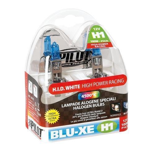 Coppia lampade H1 100 Watt effetto xenon