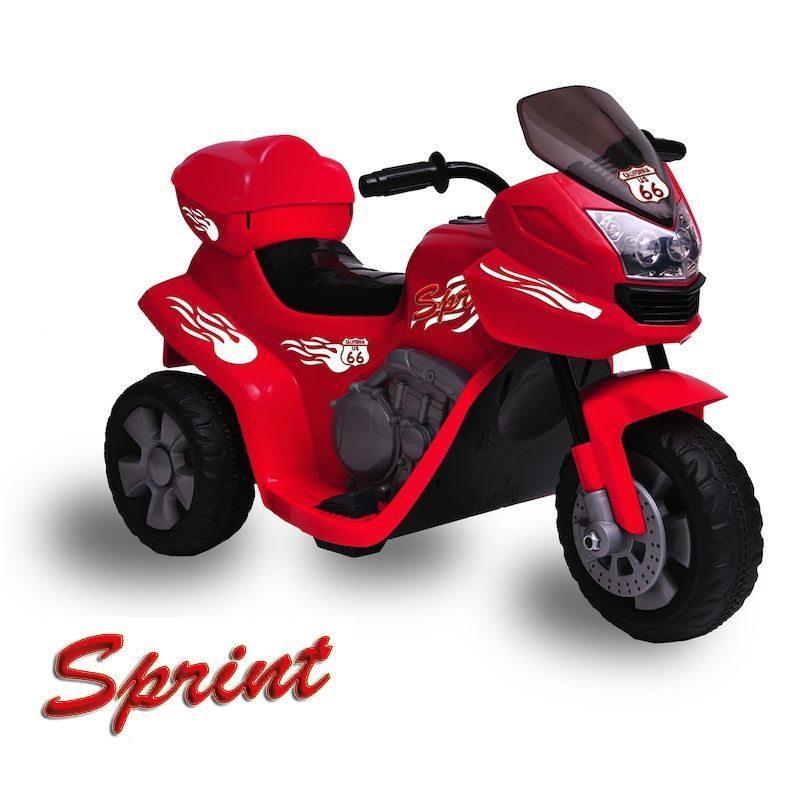 Moto Elettrica Bambini Sprint ROSSA 6V