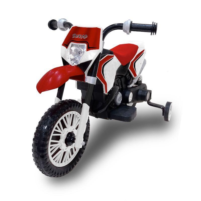 Moto Cross Elettrica Bambini 6V Biemme