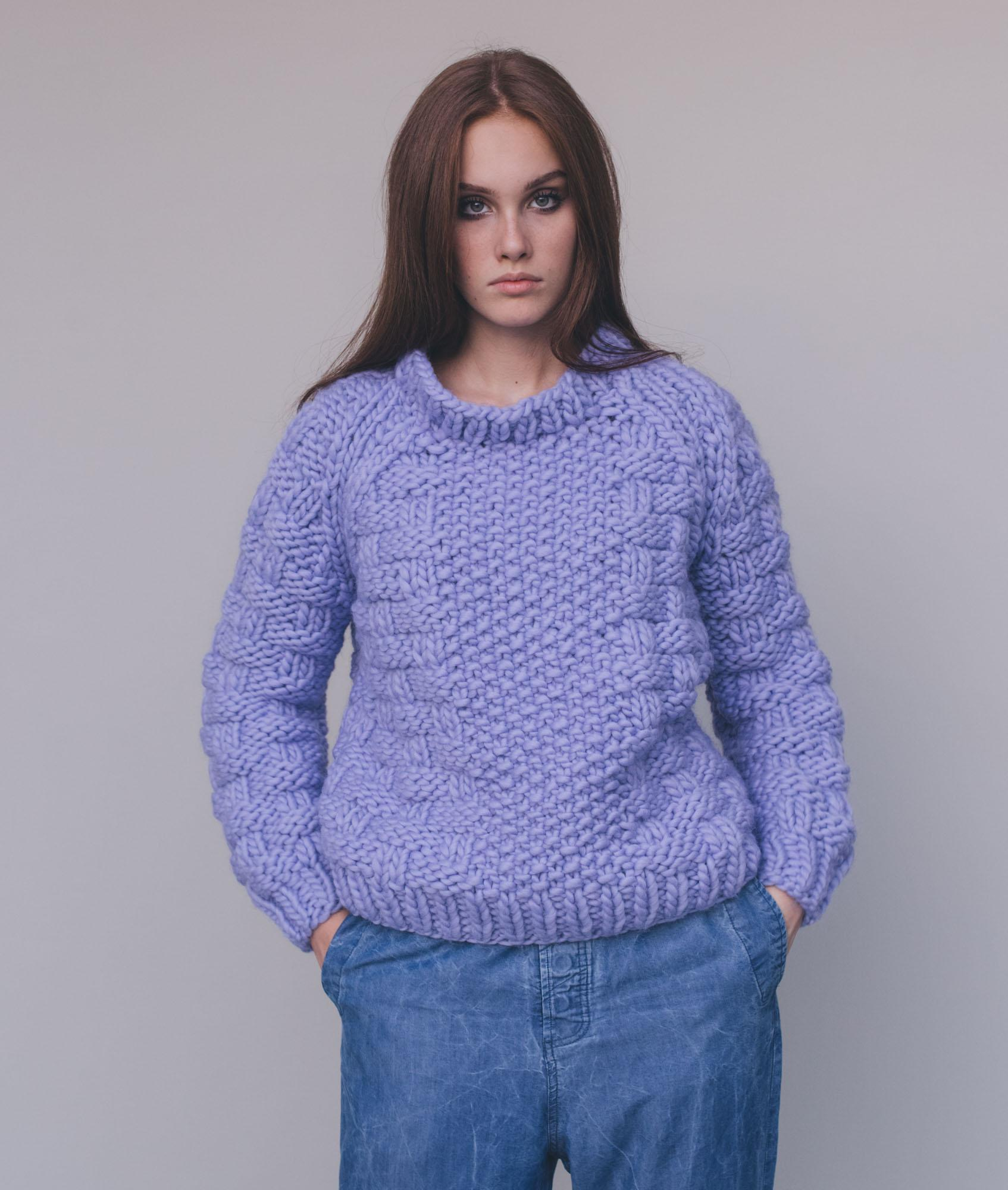Chunky Knits Collection  - Sweaters and Tops - Alyon Pull - 1