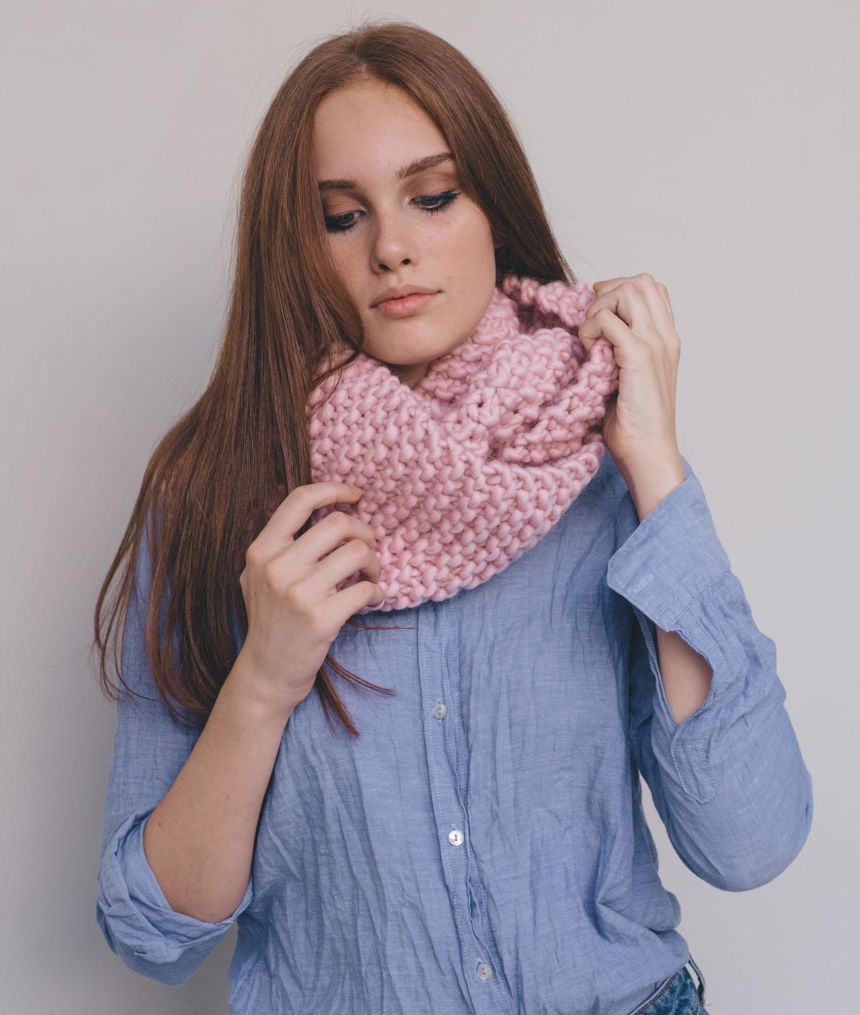 Chunky Knits Collection  - Scarves and Snoods - Elanor Snood - 1