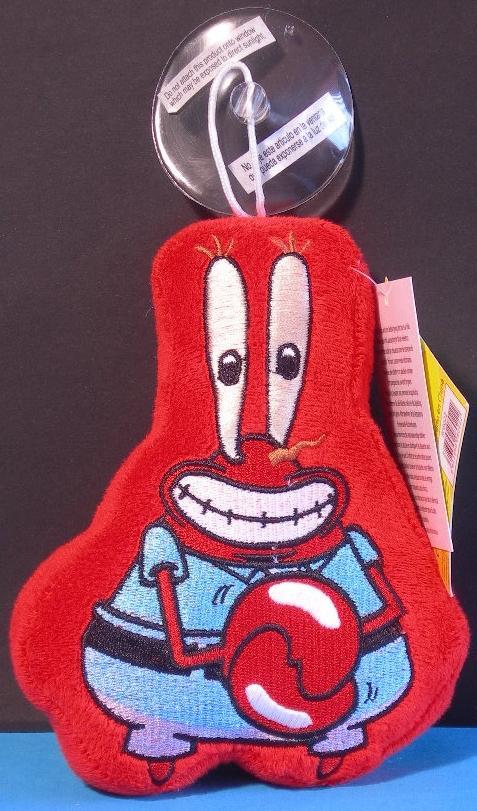 Spongebob peluche sagomato con ventosa 15 cm Patrick Gary Squiddy