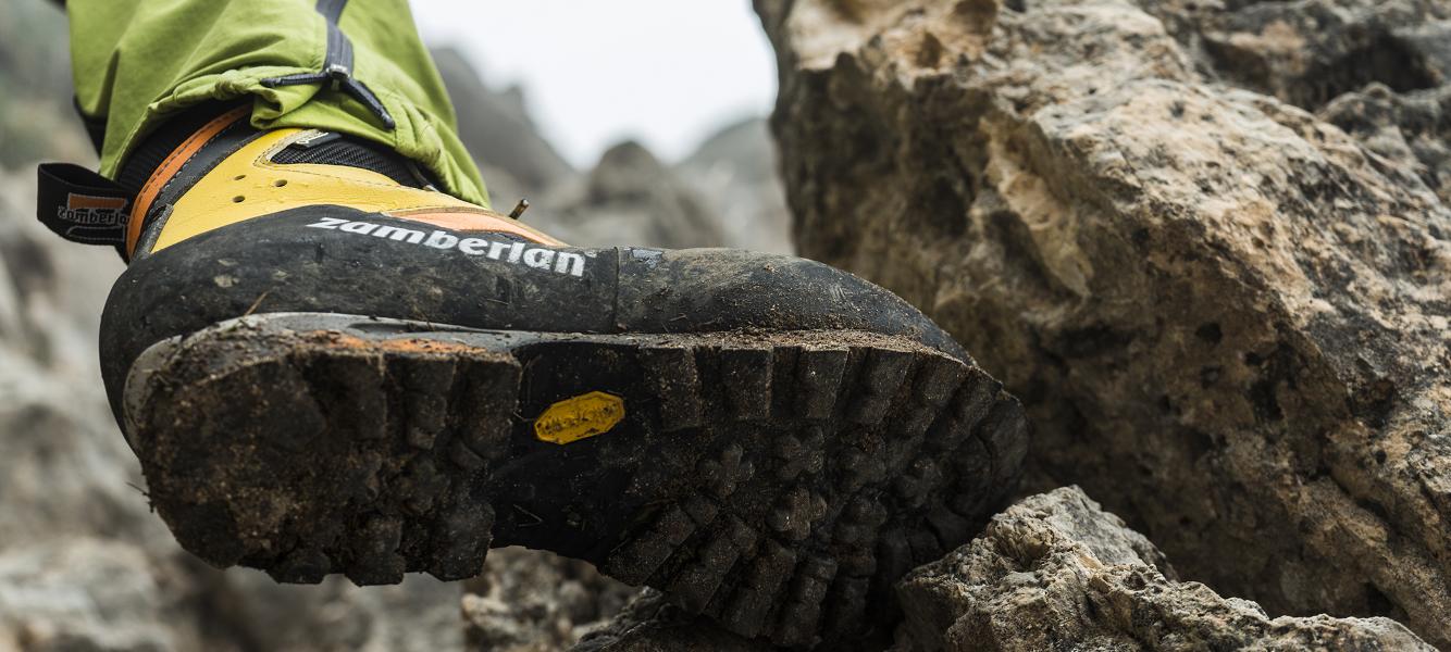 Le migliori suole per gli scarponi da trekking | Zamberlan