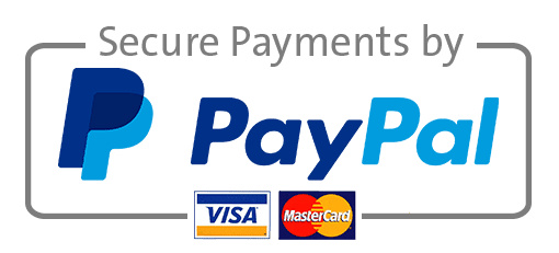 paypal and credit card payment logo