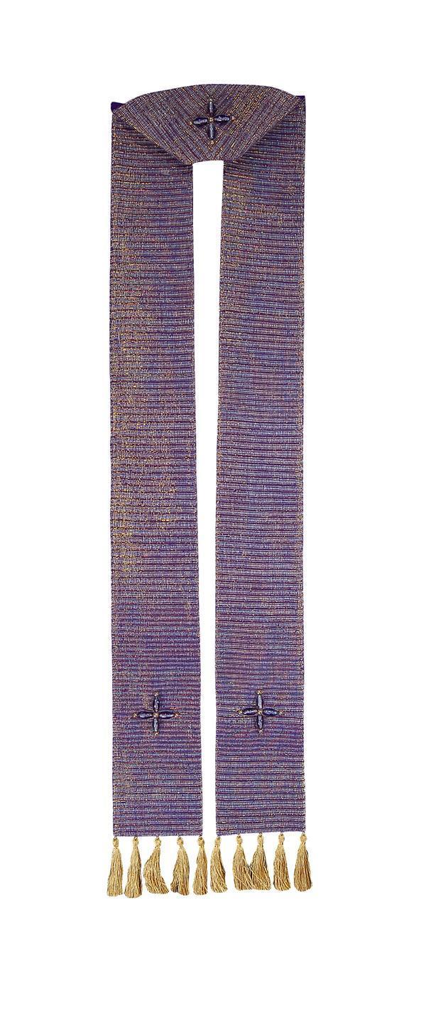 Stola SP318 Viola - Seta Greggia