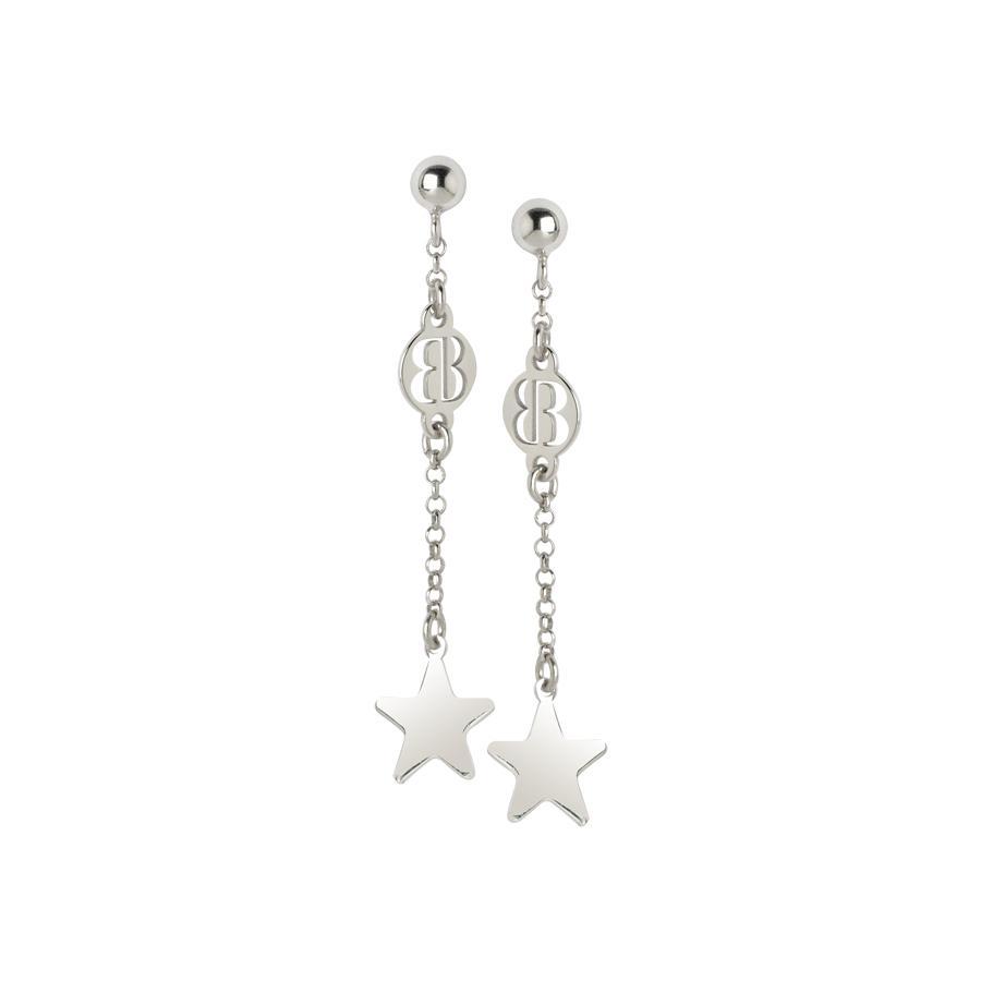 Collezione: STELLAMIA Orecchini pendenti con stella finale